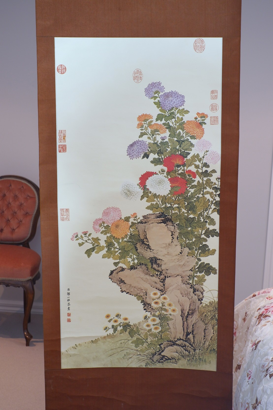 'Reproduction Chinese Scroll'