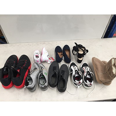 Bulk Lot of Brand New Shoes - RRP Over $400