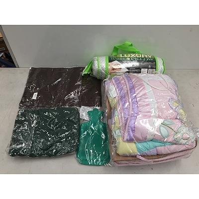 Small Lot of Brand New Bedding Items