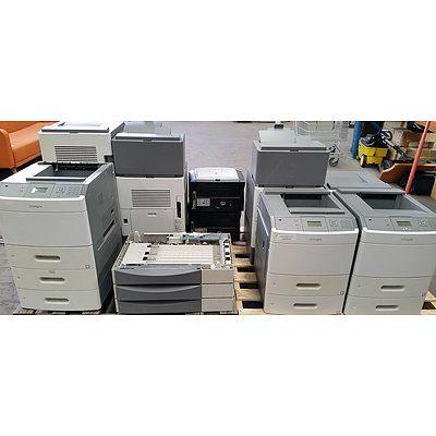 Lexmark Printers - Lot of Nine