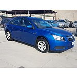 1/2010 Holden Cruze CD JG 4d Sedan Blue 1.8L
