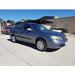 9/2004 Nissan Pulsar ST-L N16 MY04 4d Sedan Blue 1.8L
