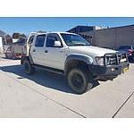 4/1999 Toyota Hilux (4x4) LN167R P/up White 3.0L