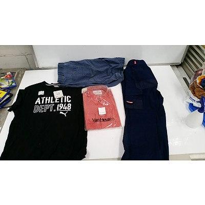 Bulk Lot of Brand New Men's Clothing - RRP $700