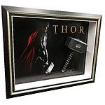 Stan Lee signed Thor Hammer Framed