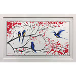 """""""Sing Song"""" Giclee on paper Limited Edition Signed by Artist Mark Hanham"""