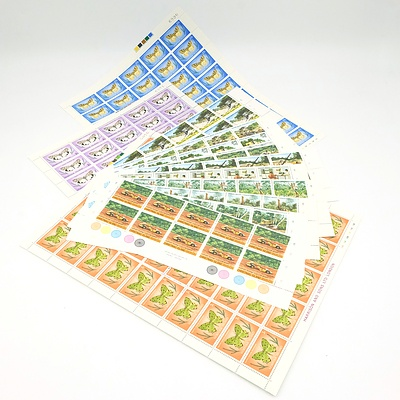 Pacific Islands Mint/ Unused Stamps, Face Value $407