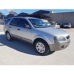 6/2005 Ford Territory TX (rwd) SX 4d Wagon Silver 4.0L