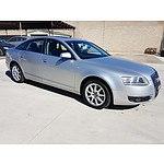 10/2004 Audi A6 3.0 TDi Quattro 4F 4d Sedan Silver 3.0L