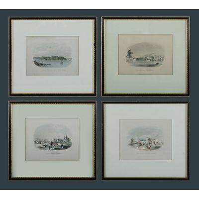 Terry, Frederick Casemero (1827-1869): Four Plates from Australian Keepsake, published 1855.