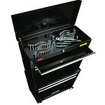 Stanley 5 Drawer Premium Tool Chest & Cabinet with Riser