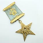 9ct Yellow Gold Lodge Arcadia Masonic Medal 1924