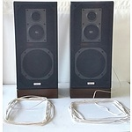 Set of Akai Speakers