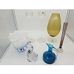 Various Glassware including Whitefriars, Wedgwood, Sweden etc.