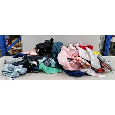 Bulk Lot Of Brand New Baby & Kids Clothing - RRP $450