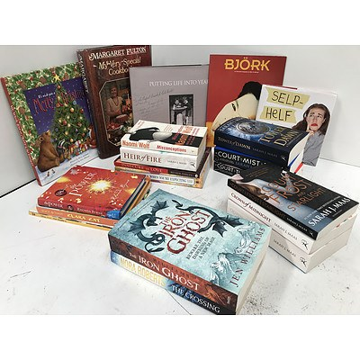 Bulk Lot of Fictional & Non-Fictional Novels - RRP $80
