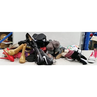 Bulk Lot of Brand new Women's Shoes - RRP $750