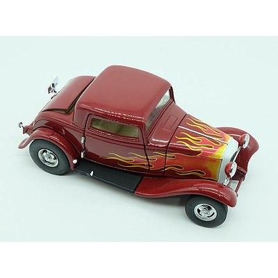 Franklin Mint 1932 Ford V-8 Hot Rod Deuce Coupe (Coddington)