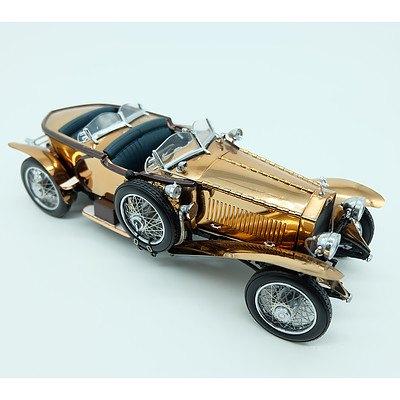 Franklin Mint 1921 Rolls Royce Silver Ghost in Copper