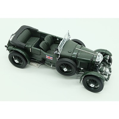 Franklin Mint 1929 Bently 4 1/2 Litre Blower