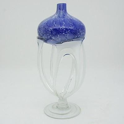 Art Glass Oil Lamp