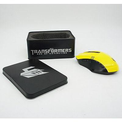Limited Edition Bumblebee Transformer Mouse