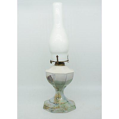Robert Gordon Hand Painted Kerosene Lamp