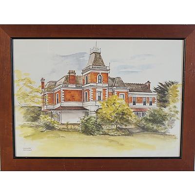 Two Joan Ingpen Bognuda Morven Manor and Coolart Off Set Prints