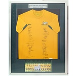 Australian Socceroos Asian Cup 2008 Signed Jersey