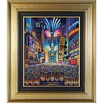 Unknown Artist New York! Signed Limited Edition Print