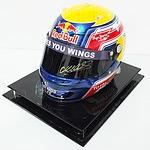 Red Bull Formula 1 Helmet Signed by Mark Webber