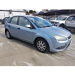 9/2007 Ford Focus CL LT 4d Sedan Blue 2.0L