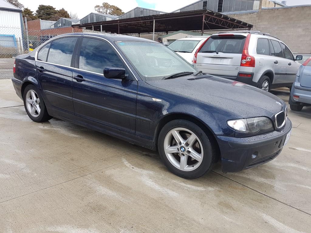 10 2002 Bmw 320i E46 4d Sedan Blue Lot 1001634 Allbids