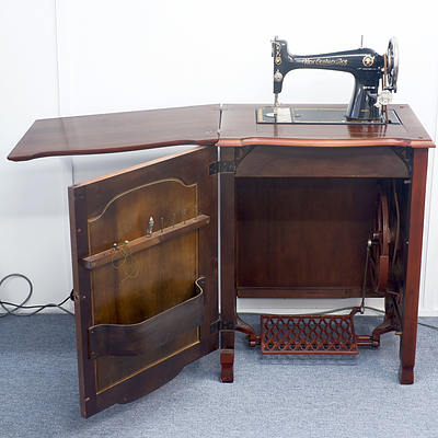 New Century Ace Treadle Sewing Machine