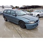 3/2005 Holden Commodore Acclaim VZ 4d Wagon Blue 3.6L