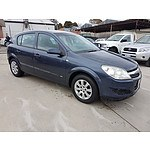 6/2008 Holden Astra 60TH Anniversary AH MY08.5 5d Hatchback Grey 1.8L
