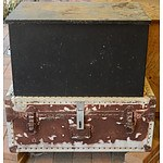 Firewood Box and Steamer Trunk