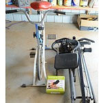 Exercise Bike, Total Gym and Tricord Resistance Trainer