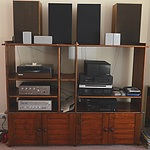 Home Audio Equipment and Entertainment Unit