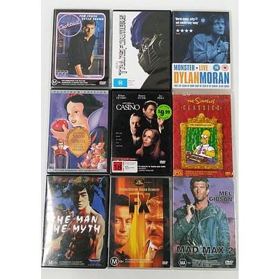Bulk Lot of DVD's