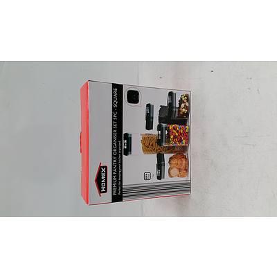 Homex Premium Pantry Organiser Set 5 Pc - RRP $50
