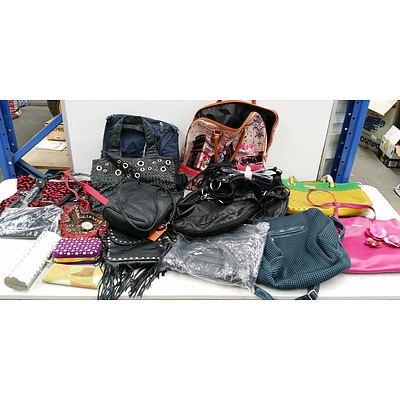 Bulk Lot of Brand New Handbags and Wallets