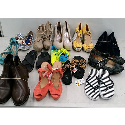 Bulk Lot of Assorted Shoes