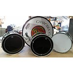 Set of 4 Marching Band Drums