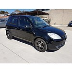 1/2006 Mazda Mazda2 MAXX DY MY05 UPGRADE 5d Hatchback Black 1.5L