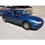 4/2002 Holden Commodore Acclaim VXII 4d Sedan Blue 3.8L