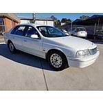 4/2001 Ford Fairlane GHIA AUII 4d Sedan White 4.0L