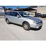4/2006 Subaru Outback 2.5i MY06 4d Wagon Silver 2.5L