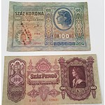 9x Foreign Notes Dates Ranging from 1898 to 1976