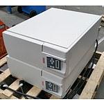 Pair of Toshiba 1600EP Series Floorstanding UPS